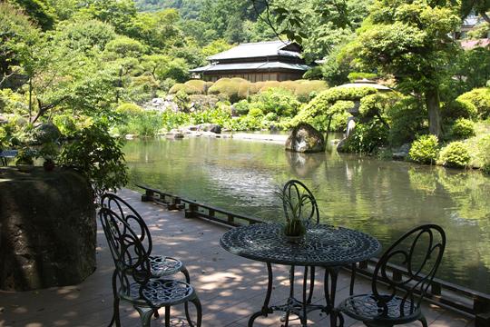 吉池旅館 庭園