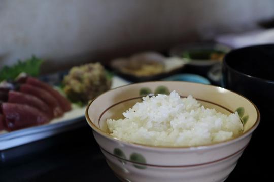 カツオ定食
